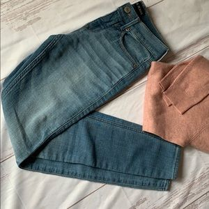 EXPRESS JEANS MIA LEGGING MID RISE SKINNY FIT 00